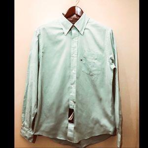 New W Tags Mens Nautica Oxford Shirt in Mint Green